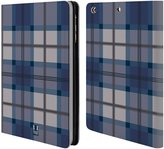 Head Case Designs Plaid - Pattern Collection Leather Book Wallet Case Cover For