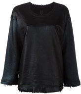 RtA crew neck jumper - women - Cotton - XS