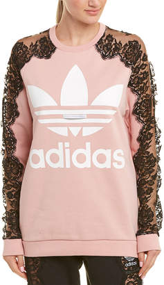 Stella McCartney Adidas 3-Stripe Lace Sweatshirt