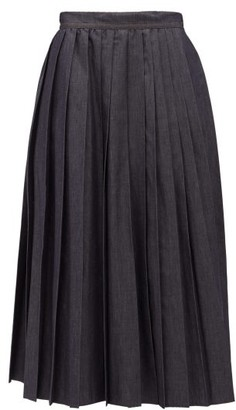 Max Mara Nettare Skirt - Womens - Navy