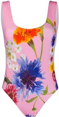 Natasha Zinko Floral Print Swimsuit