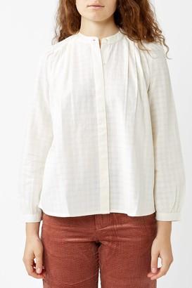 Des Petits Hauts Ecru Vania Shirt - Beige / XS