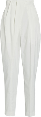 Proenza Schouler Tapered Pleated Pants