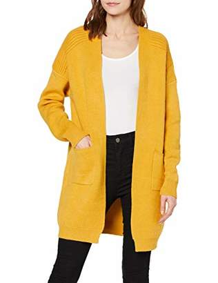 Yumi Knit Pocket Long- Line Cardigan