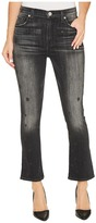 Hudson Harper High-Rise Crop Baby Kick Flare in Night Star Women's Jeans