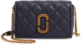 Marc Jacobs The Quilted Leather Flap Crossbody Bag