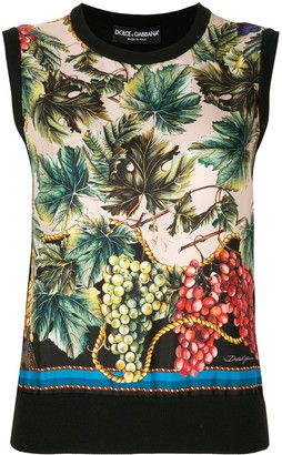 Dolce & Gabbana Cashmere Knitted Top