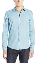 Theory Men's Benner Chambray Button-Down Shirt