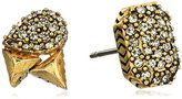 House Of Harlow The Theia Pave Stud Earrings