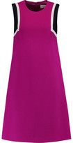 Goat Dolly Color-Block Wool-Crepe Dress