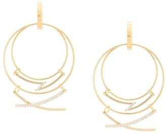 Mounser Mobile Hanging Hoop Earrings