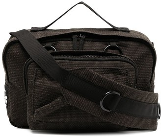 Raf Simons Logo Patch Shoulder Bag