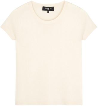 Paule Ka Cream silk-blend jumper
