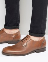Selected Antonio Smart Shoes In Tan Leather