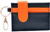 Navy & Orange Credit Card Holder