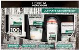 LOréal Paris Men Expert L'Oréal Paris Men Expert Ultimate Sensitive Kit Christmas Gift (Worth £19.51)