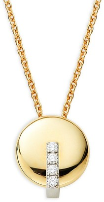 Roberto Coin 18K Two-Tone Gold, Ruby Diamond Necklace