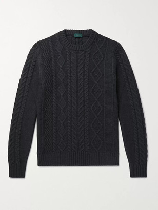 Incotex Cable-Knit Virgin Wool Sweater