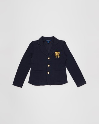 Polo Ralph Lauren Knit Cotton-Blend Blazer - Teens
