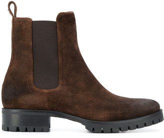 DSQUARED2 Ridged Sole Ankle Boots