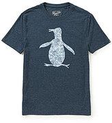 Original Penguin Floral Fill Pete Logo Graphic Short-Sleeve Tee