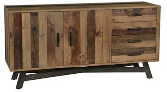 Foundry Select Romig Wood and Metal Sideboard