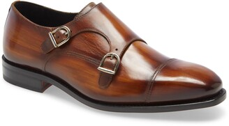 Ike Behar Regal Double Monk Strap Shoe