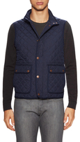 Thomas Pink Humphrey Quilted Vest