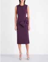 Roksanda Laurana bow-detail crepe dress