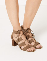 Marks and Spencer Ghillie Gladiator Block Heel Sandals