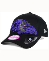 New Era Women's Baltimore Ravens Glitter Glam 2.0 9FORTY Cap