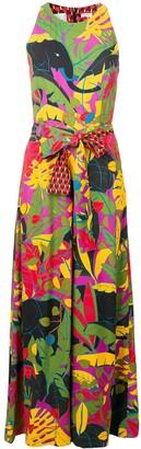 La DoubleJ Colour-Block Flared Jumpsuit