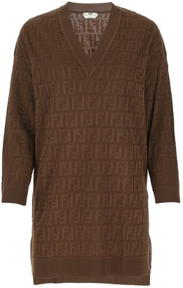 Fendi FF Sweater Dress