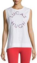 Lucas Hugh Logo Graphic Tank Top