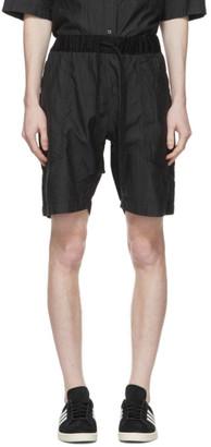 ts(s) tss Navy Faille Pinstripe Baggy Shorts
