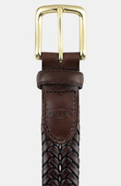 Fossil Men's 'Maddox' Leather Braid Belt