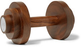 Linley Dumbbell Wood Paperweight