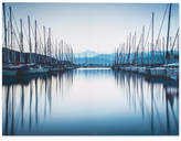 Graham & Brown Harbour Reflections Canvas Print