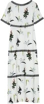 Ethereal London Viola Print Maxi Dress