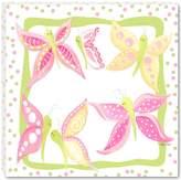 Doodlefish Gallery-Wrapped 18x18 Wall Art, Butterfly Garden