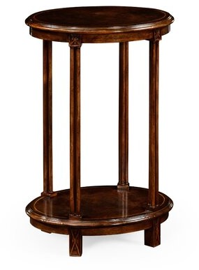 Jonathan Charles Fine Furniture Oval End Table Jonathan Charles Fine Furniture