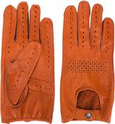 Al Duca D'Aosta 1902 - stitch perforated gloves - men - Leather - 9