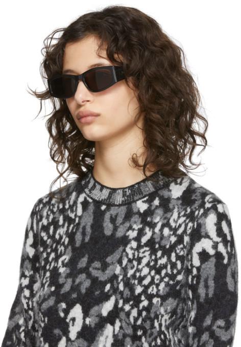 Thumbnail for your product : Saint Laurent Black Signature SL 329 Sunglasses