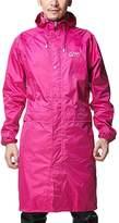 Liveinu Adult Lightweight PVC Long Size Hooded Raincoat 3XL