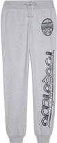 Moschino Logo cotton tracksuit bottoms 4-14 years