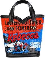 Olympia Le-Tan Mini Beatrix tote bag - women - Leather/PVC - One Size