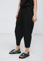 Issey Miyake black le pain tapered pant