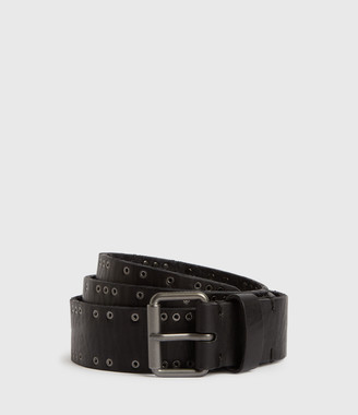 AllSaints Dawson Leather Belt
