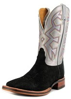 Nocona Md5200 Men Square Toe Leather Gray Western Boot.