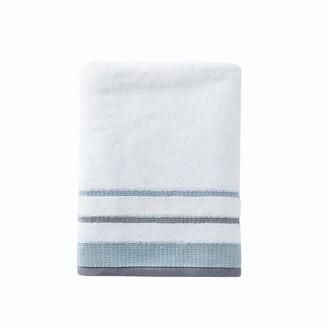 """SKL Home Go Round Bath Towel, Natural, 27"""" x 50"""""""